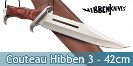 Couteau Hibben 3 Fighter 42cm Rambo 3
