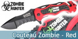 Couteau Zombie Hunter Master Cutlery Red