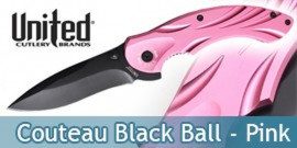 Couteau Black Ball Pink UC2761 United Cutlery