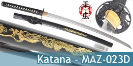 Katana Masahiro Dragon MAZ-023D Master Cutlery