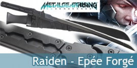 Metal Gear Solid Rising - Raiden Katana Forgé
