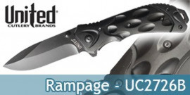 Couteau Rampage UC2726B United Cutlery