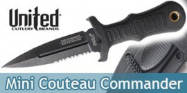 Mini Couteau Combat Commander UC2724 United Cutlery