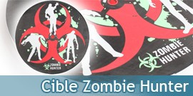 Cible Zombie Hunter Target