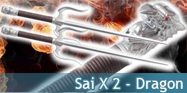 Sai X 2 Dragon