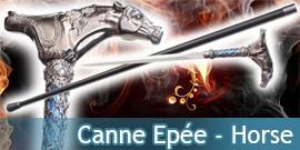 Canne Epée Horse