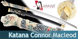 Katana Connor Macleod Highlander JL-003HM