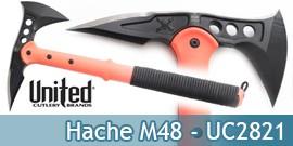 Hache - Hachette - Tomahawk M48 - UC2821 Orange