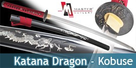 Katana Dragon Rouge - Kobuse Master Cutlery