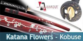 Katana Flowers - Kobuse Master Cutlery