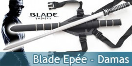 Epée Blade + Fourreau Katana Lame Damas