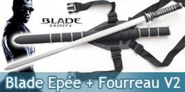 Blade Epée + Fourreau V2 Katana Vampire