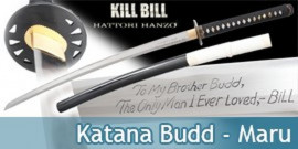 Bushido - Kill Bill Katana Forgé Budd - Maru