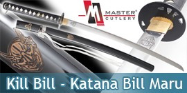 Kill Bill - Katana Bill Maru Master Cutlery
