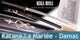 Bushido - Kill Bill Katana Forgé La Mariée - Damas