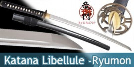 Katana Libellule Ryumon Carbone RY-3047