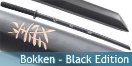 Bokken Noir - Black Edition
