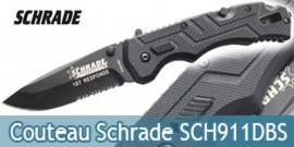Couteau Schrade SCH911DBS
