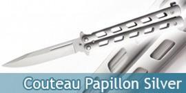 Couteau Papillon Silver - 364