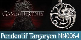 Game of Thrones - Pendentif Targaryen NN0064