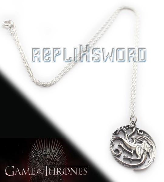 Game of Thrones - Pendentif Targaryen NN0064