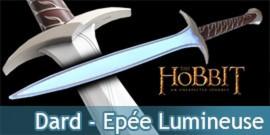 Le Hobbit Dard - Epée lumineuse de Bilbo NN1299