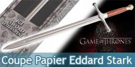 Game of Thrones - Ouvre-lettres Eddard Stark NN0044
