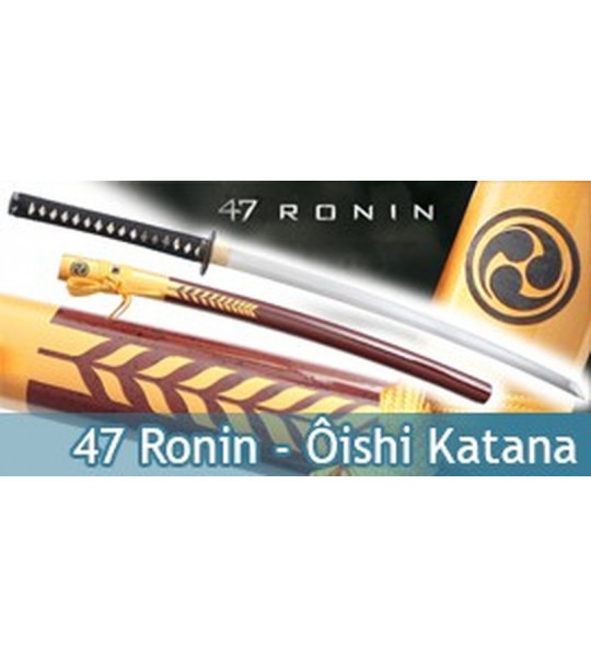 47 Ronin Katana Oishi Kuranosuke - 47R002