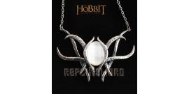 Le Hobbit Galadriel Pendentif Broche Argent NN1283