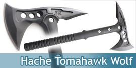 Hache - Hachette - Tomahawk Black Wolf