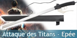 Attaque des Titans Epée Katana