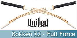 Bokken X2 Full Force UC1494 United Cutlery