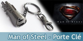 Porte Clé Man of Steel Bijoux NN4130