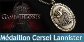 Game of Thrones - Médaillon de Cersei Lannister NN0082