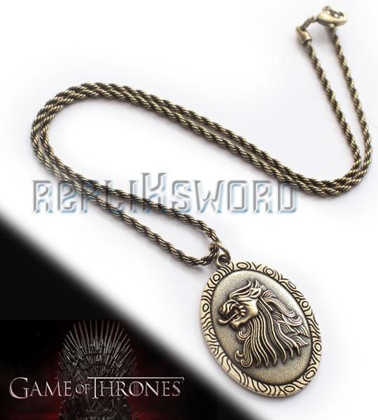 Game of Thrones - Médaillon de Cersei Lannister NN0082