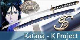 K Project Katana de Yatogami Kuroh Epée Sabre