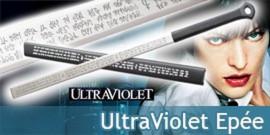 Ultraviolet Epée de Violet Katana et Fourreau