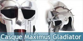 Casque Gladiateur Maximus Gladiator