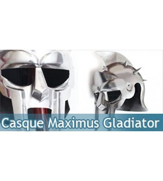 Casque Gladiateur Maximus Gladiator