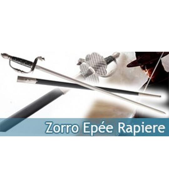 Epée Rapiere du Masque de Zorro