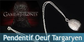 Bijou Oeuf Dragon Targaryen NN0038 Game of Thrones