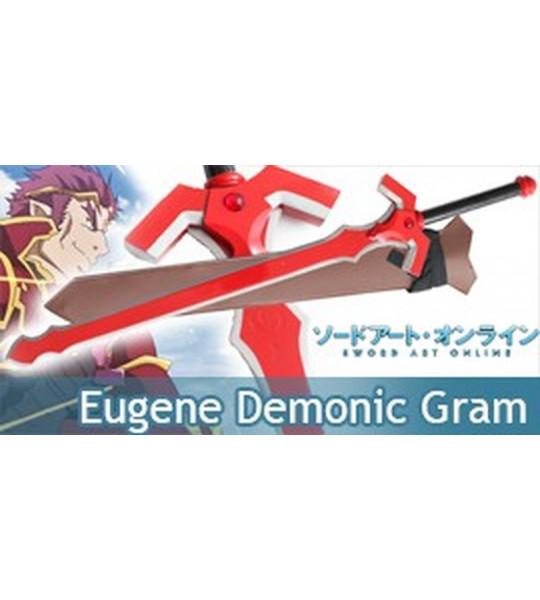 Sword Art Online Eugene Epée Demonic Sword Gram