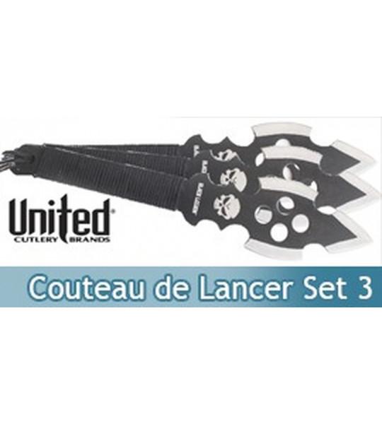 Set 3 Couteau de Lancer Black Savage BV127