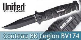 Couteau Black Legion BV174 United Cutlery