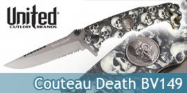 Couteau Death BV149 United Cutlery Black Legion