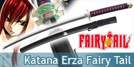 Katana Fairy Tail Erza Scarlett Epée Réplique