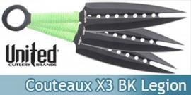 Set 3 Couteaux de Lancer BV213 United Cutlery