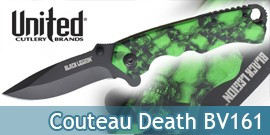 Couteau Green Death BV161 Black Legion