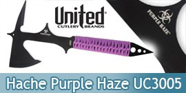 Hache Tactique Purple Haze UC3005 United Cutlery