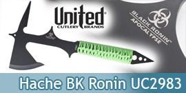 Hache Black Ronin Apocalypse UC2983 Hachette